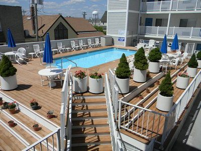 Unit 402 only steps away from the pool!