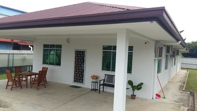 Photo for Private.Bungalow.Tanjung Aru.Sabah. HOMESTAY.Beach.Sunset.Imago.KK.SEAFOOD.4ROOM