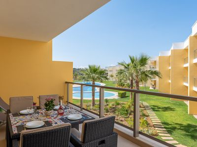 Photo for Stunning apartment by Harbor of Albufeira