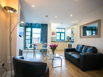 Photo for Temple Bar 2 Bedroom Modern Apartment in the heart of the city - sleeps 6