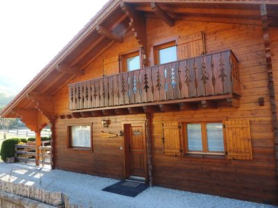 Photo for Detached chalet station Bernex near Chatel 10 minutes from the beaches of Lake Geneva.