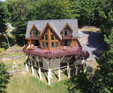 4500 Sq Foot Log Home In Great Location Vrbo