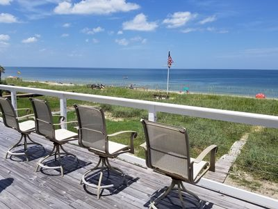 """Photo for Sandy Shores, Amazing 4 Bedroom, Ocean Front, 60"""" Flat Screen, WIFI and more"""
