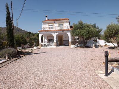 Photo for Detached Villa With 8 X 4 Metre Private Pool With Stunning Views Over The Valley