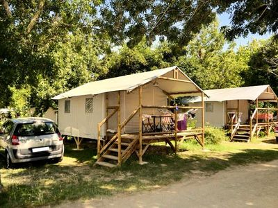 Photo for Camping Flower L'Ile d'Offard ***** - Lodge Lodge 3 Rooms 4 People