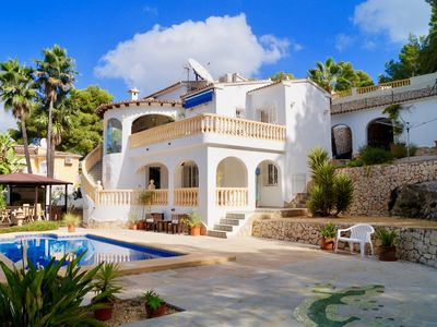 Photo for Nice villa in quiet neighbourhood in Moraira with private swimming pool