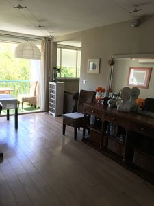 Photo for very nice modern apartment, 5 minutes walk from the beaches.