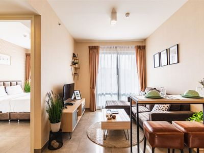 Photo for ⭐Special Offer⭐Cozy 1BR @Unixx⭐Walking Street 5min, Bang Lamung District