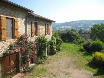 Photo for Beautiful farm cottage in the heart of Cluny
