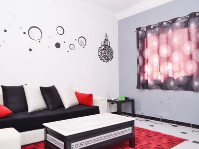 Photo for WIRELESS !Chic apartment in Akid Lotfi