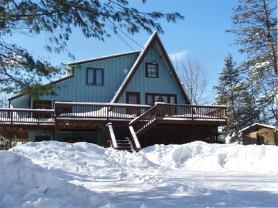Outside view-5BR Four Season Home Near Mount Snow