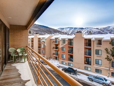 Photo for Mountain-View 2BR w/ Fireplace – Near Skiing & Main Street, On Shuttle Route