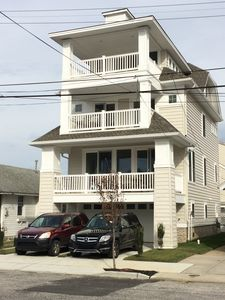 Photo for Beach Block, Single Family, Almost New, Elevator, 6BR, 3.5 BA, Sleeps 18-