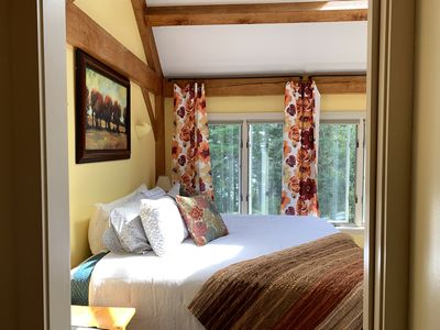 The master suite features a new DreamCloud hybrid platform King-sized bed...ahh