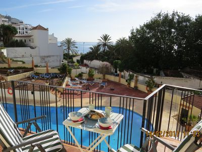 Photo for Ref: 250 - 1 bedroom apartment near the beach with A / C, WiFi, TV, pool.