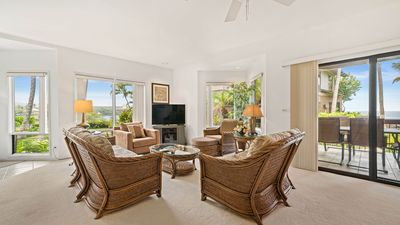 Photo for Family Friendly Oceanfront Condo w/ AC, Lanai, Shared Pool