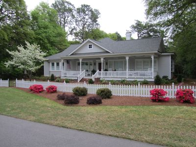 Photo for Old Town, Upscale 1895 Cottage, Huge Porch, Modern Conveniences