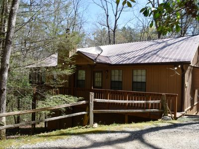 Photo for Brandwine Cabin - Screened Porch and Great Privacy