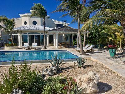 Photo for Twelve Palms Villa: A beautiful oceanfront home.