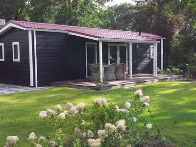Photo for Very comfortable chalet, situated in a quiet holiday park in a natural region