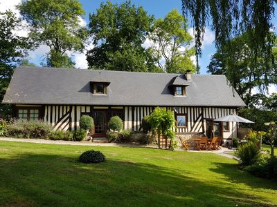 Photo for 4BR Villa Vacation Rental in Vieux-Bourg, Normandie