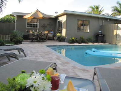 Photo for (WBW) Private Heated Pool, 2B/2B, Walk to Dining and Shops