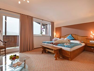 Photo for Double room with shower / WC with balcony and Kaiserblick - Café-Restaurant Bettina