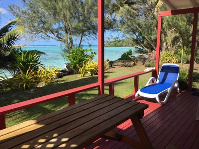 Photo for Absolute Beachfront Living.. Couples/honeymooners - Your Piece Of Paradise!