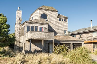 The Beach House is a unique 3 level home on a quiet dead end street.