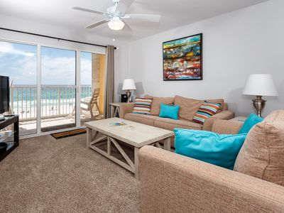 Photo for Gulf Dunes 404: GORGEOUS UPDATES!! DON'T MISS OUT, beachfront 4th floor