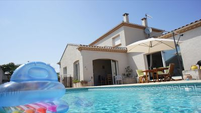 Photo for Pool and sea Villa for rent in Vias