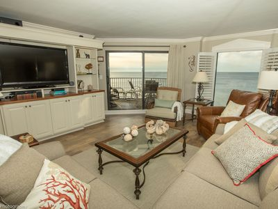 Photo for Inlet Reef 504 Stunning Gulf Front 2 BR - Completely Remodeled - Amazing 5th Floor views