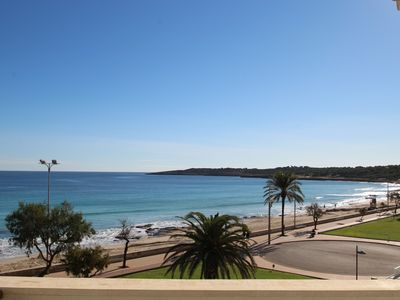 Photo for New, sunny, excl. Holiday apartment on the beach to 4 WLA