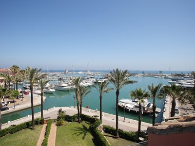 Photo for Penthouse Duplex, best part of Puerto Sotogrande, fronting main Marina