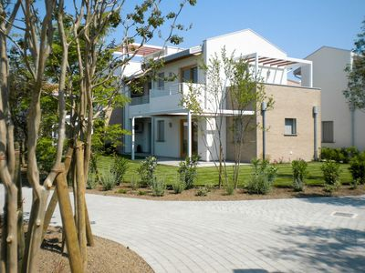 Photo for Lovely apartment for 6 people with pool, WIFI, A/C, TV, balcony and parking