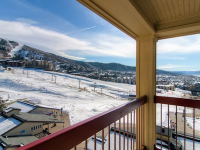 Photo for Spacious Slopeside Condo w/Mountain Views & Pool, Great for a Summer Vacation