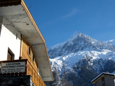 Photo for In an amazing site at the foot of the Mont Blanc
