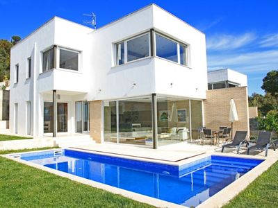 Photo for Club Villamar - Gorgeous villa of modern design with private pool, wifi and nice garden