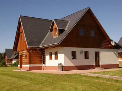 Photo for Characteristic and comfortable villa in Vrchlabi, situated in Krkonose National Park