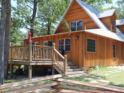 Photo for WaterMill Cove Resort LAKEFRONT CABIN~2 mi to Silver Dollar City~Pools~Mini Golf