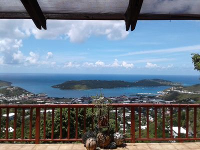 View of Charlotte Amalie Harbor