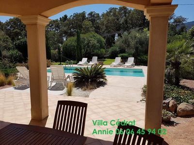Photo for Charming villa with pool for holidays in Porto-Vecchio