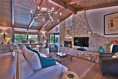 3 LIVING ROOM WITH FIREPLACE
