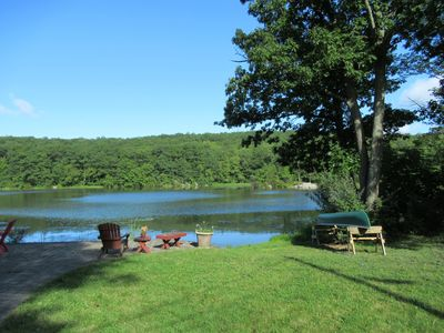 Photo for Lakefront Mountain Home near Mountain Creek and Warwick, NY