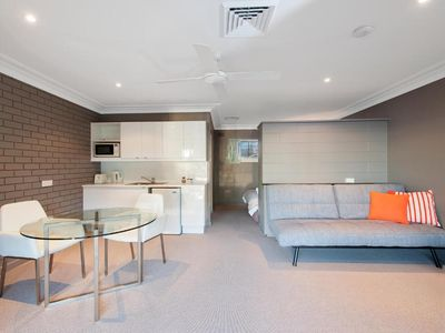 Photo for Motel Room 6 with Patio - Motel Room 6 & Kitchenette