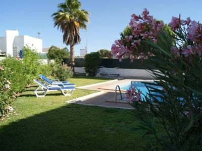 Photo for Beautiful villa, with garden and private pool, Clim, free Wifi, near pla