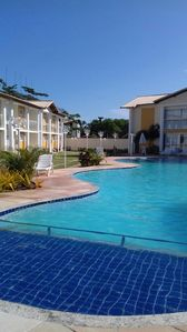 Photo for APTO ON THE BEACH TAPERAPUÃ, NEXT AXÉ MOI, SECURITY AND COMFORT, UP TO 6 PEOPLE