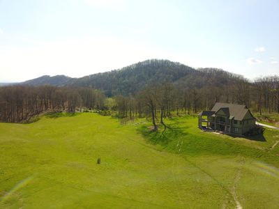 Photo for Private Mountain Retreat with Pool, Hot Tub and Deer/Turkey Hunting