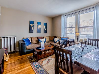 Photo for FAMILY SUITE 2Bd, 1Ba near Forest Park, Wash U and The Delmar Loop