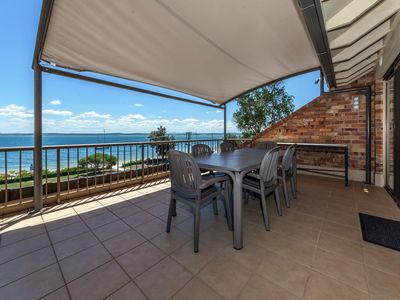 Photo for A beautifully appointed unit, right opposite Nelson Bay Beach (with free...